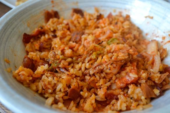 Bacon Kimchi Fried Rice Eyechow