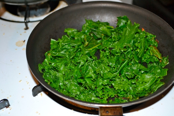 Cooking Kale