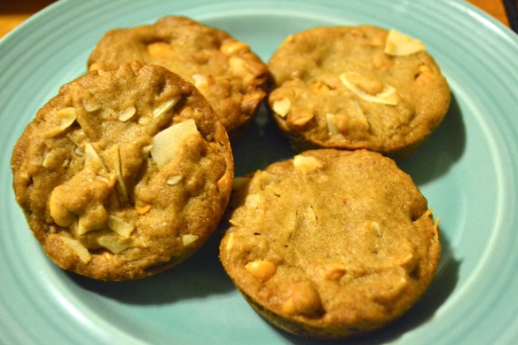 Coconut-flake butterscotch-chip cookies