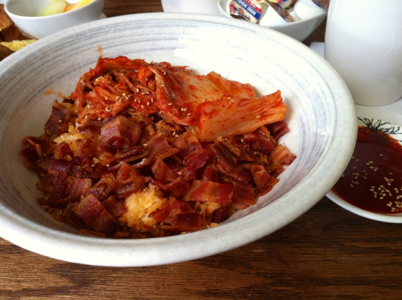 Kimchi & Bacon Fried Rice Yogur Story