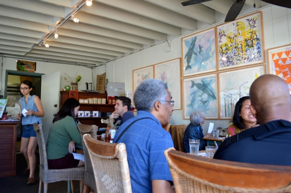 Inside Morning Glass Coffee & Cafe Manoa
