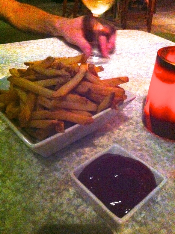 Rum Fire French Fries