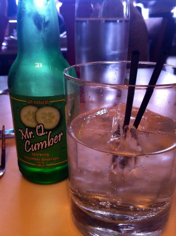 Mr. Q Cumber Soda