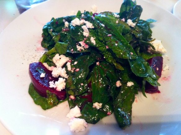 10th Ave Grill Spinach Salad