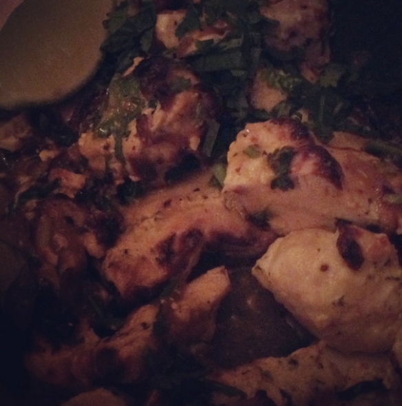 Tandoori Lime Chicken