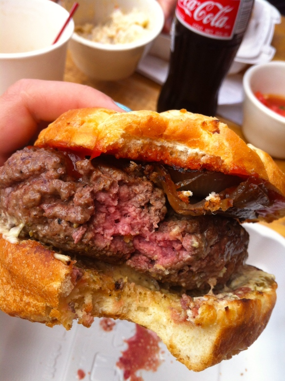 The Whole Ox Burger