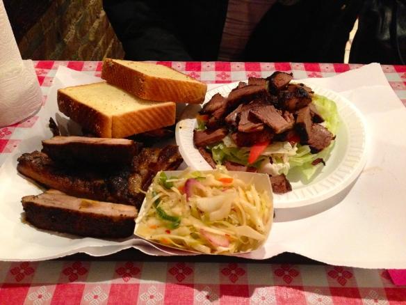 John Brown Smokehouse Lunch Plate