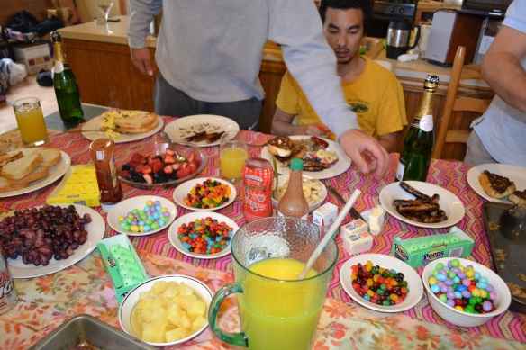 Easter Brunch in College