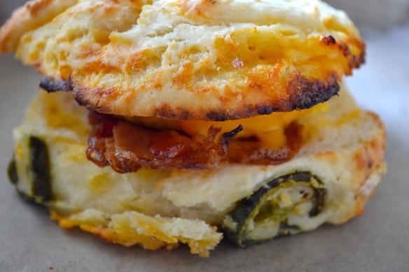 Jalapeño Biscuit Sandwich