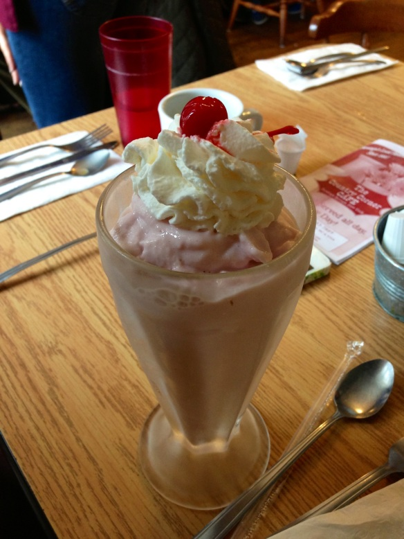 Country Corner Strawberry Milkshake