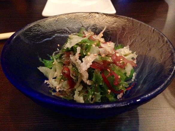 Sushi Dojo seaweed salad
