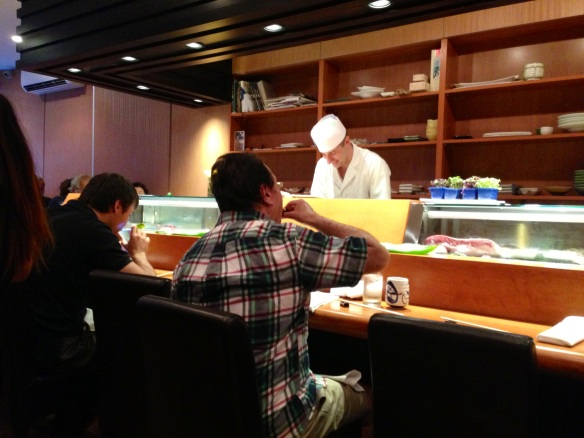 Chef David at Sushi Dojo