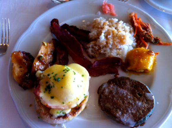 Brunch at Orchid's Halekulani