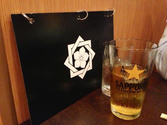 Sapporo and menu