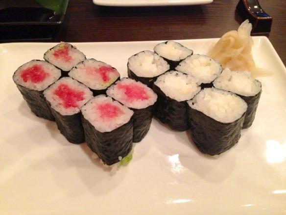 Sushi at Sushi Dojo NYC