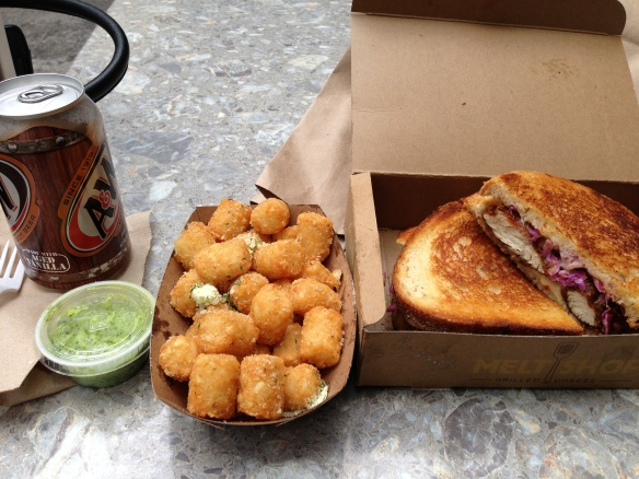Lunch at Melt Shop NYC