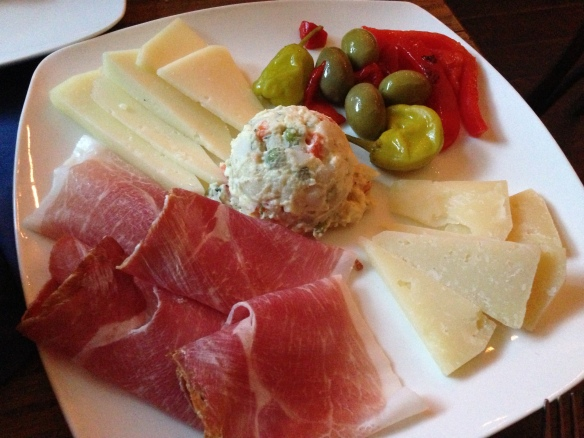 Veslo Meat & Cheese Plate