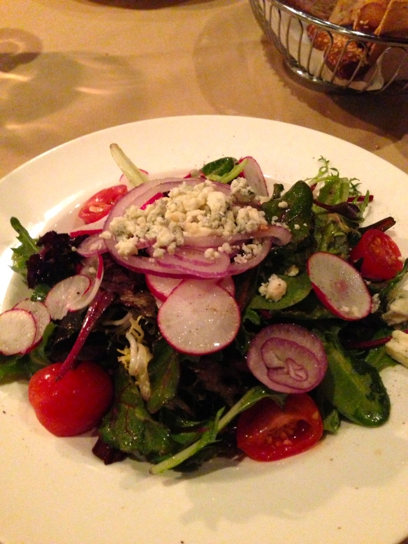 Club A Steakhouse NYC Salad