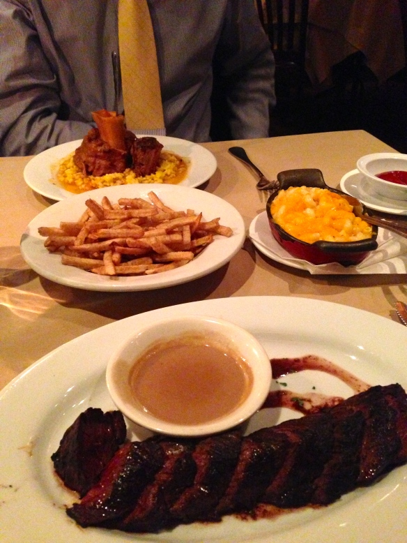 Club A Steakhouse Dinner