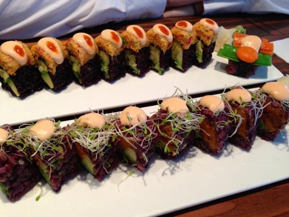 Beyond Sushi Black Rice Rolls