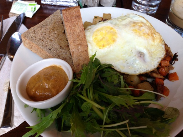 State Road Chicken Confit Hash