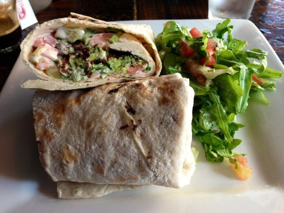 Mezze Place Falafel Wrap