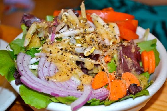 Tempeh salad Asheville