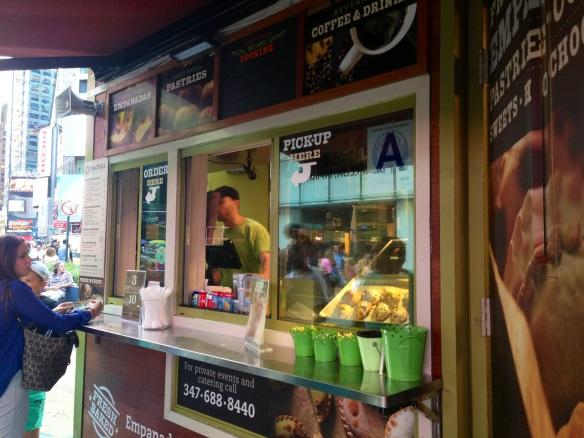 Nuchas NYC Times Square Kiosk