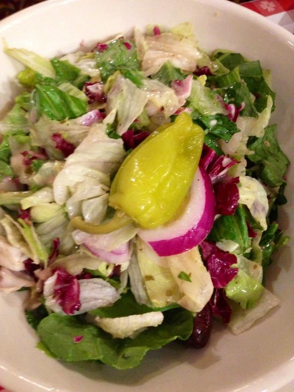 Buca di Beppo mixed salad