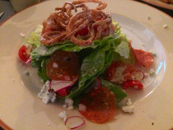 Max London's Bib & Blue Salad