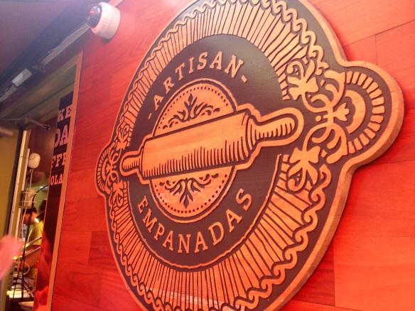 Nuchas Empanadas Sign
