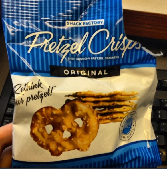 Pretzel Crisps mini package
