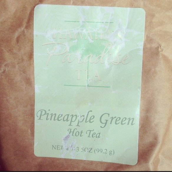 Pineapple green tea