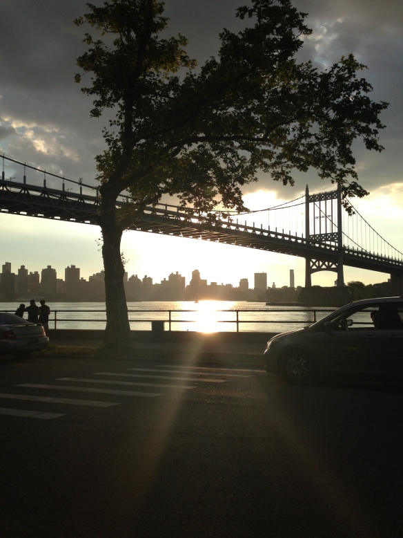 Sunset from Astoria Park