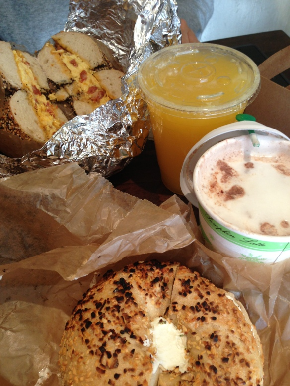 BK Bagel Breakfast