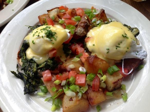 Eggs Benedict Tartine