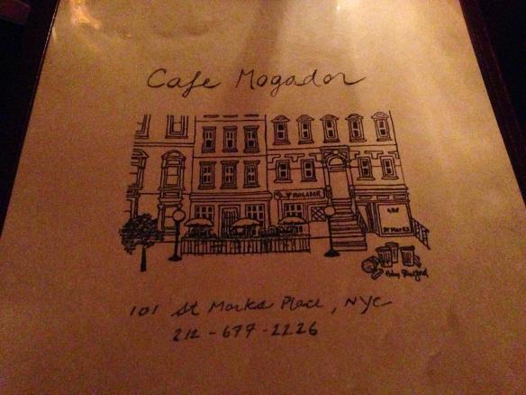 Cafe Mogador NYC