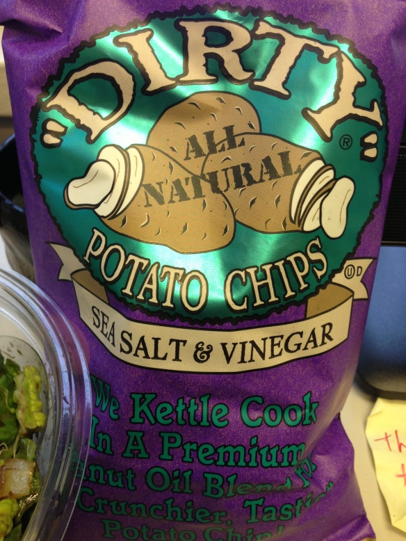 Dirty salt & vinegar chips