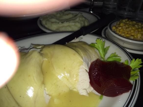 Thankgiving Diner Plate