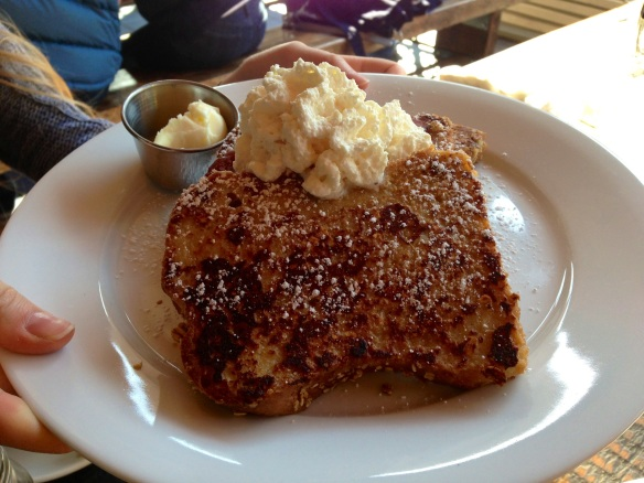 The Strand Granola French Toast