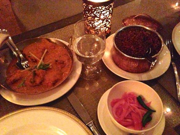 dinner at Junoon New York