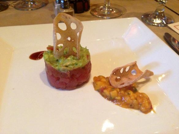 Grace's Trattoria tuna tartare