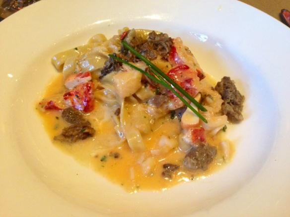 Grace's Trattoria lobster pasta
