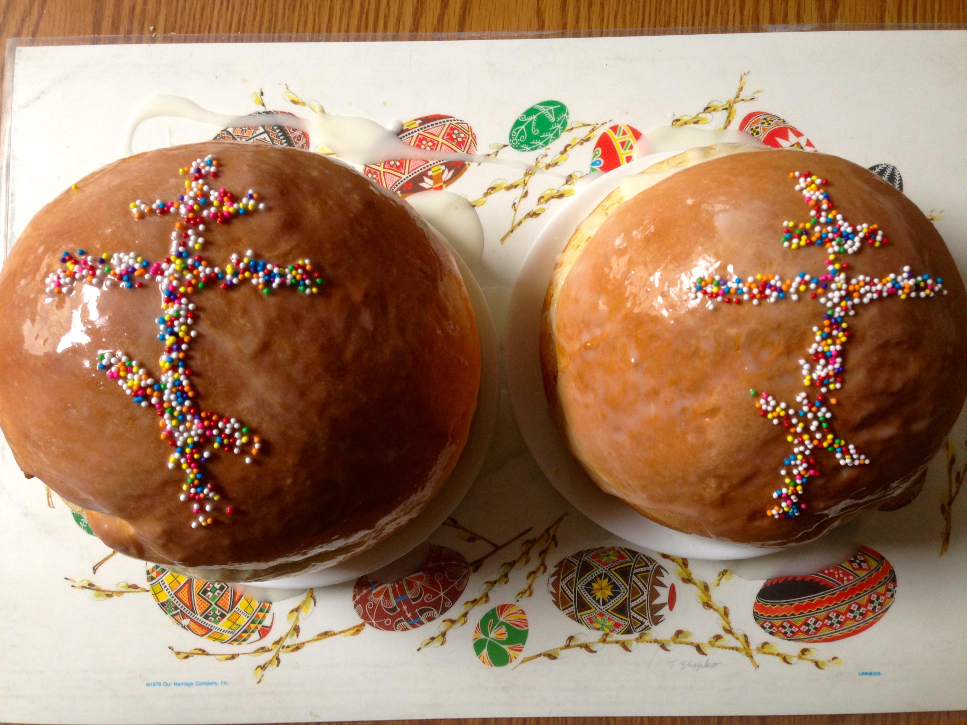 Paska [Russian Easter Bread], Minneapolis | eyechow