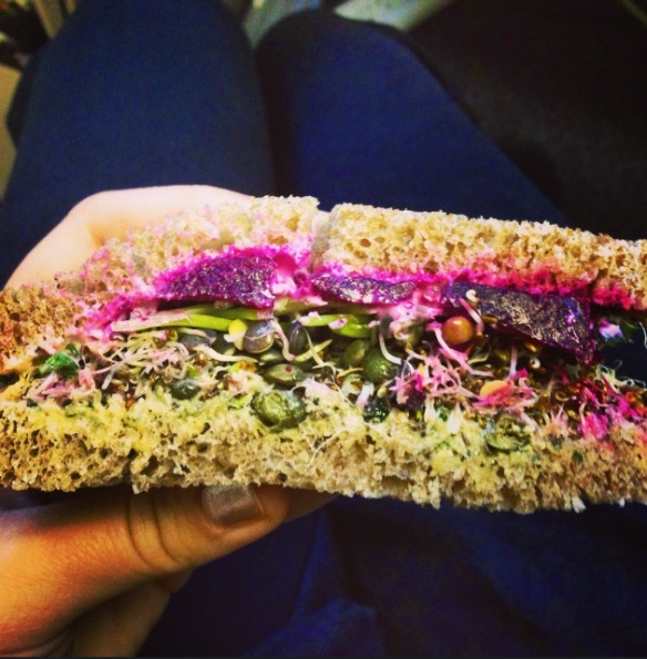 best vegan sandwich ever