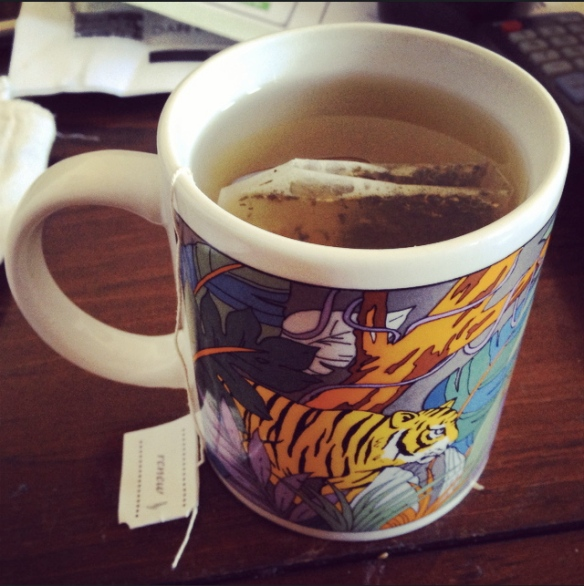 detox tea WIAW