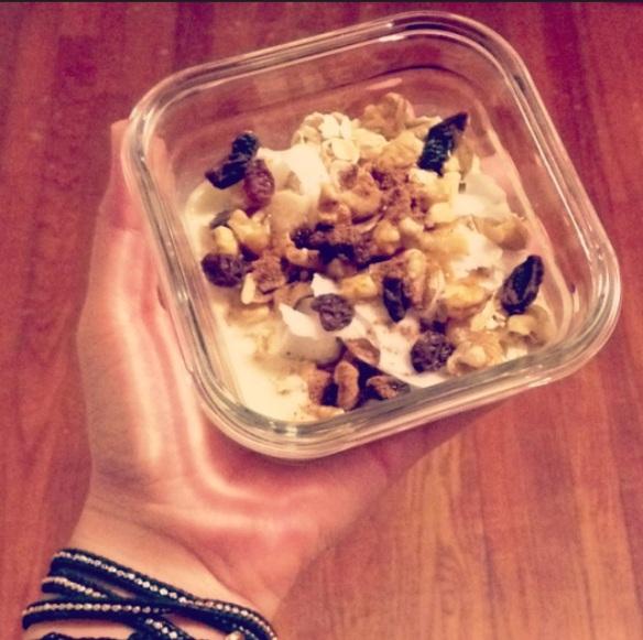 WIAW overnight oats