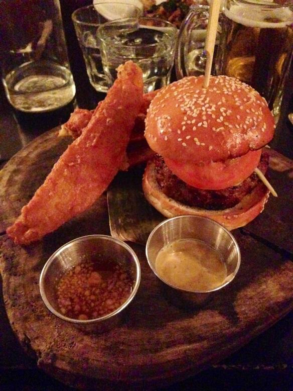 Ngam burger NYC