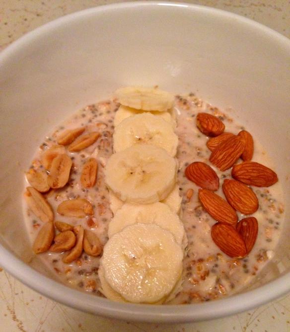 healthy oatmeal WIAW