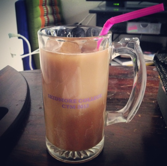 iced coffee at home